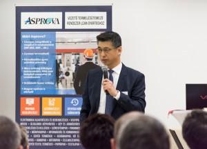 Keiji Fuji, az Asprova Európai és Amerikai igazgatója