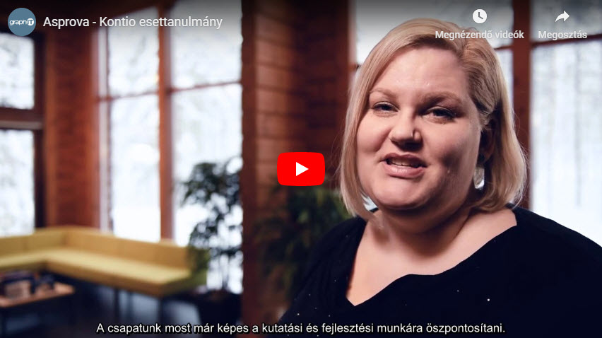 Asprova - Kontio esettanulmány