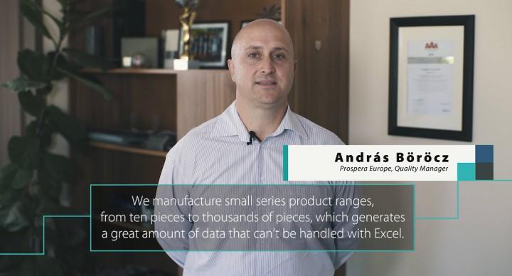 Prospera: Az Asprova közel 100%-os biztonság mellett tudja a határidőket garantálni!
